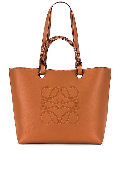 Loewe Anagram Tote Bag in Neutral
