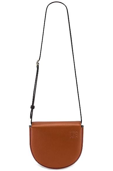Loewe Heel Duo Bag in Tan