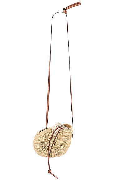 Loewe Paula's Ibiza Moon Shell Bag in Neutral