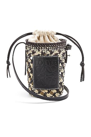 Loewe Paula's Ibiza Cylinder Pocket Bag in Navy