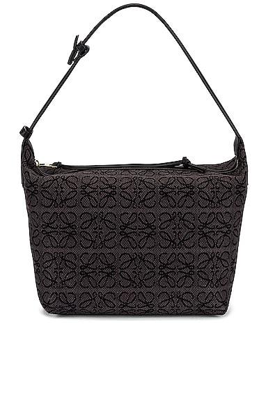 Loewe Cubi Anagram Bag in Black