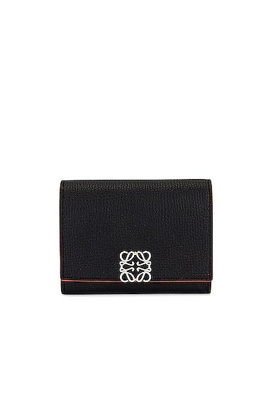 Loewe Anagram Coin Cardholder in Black