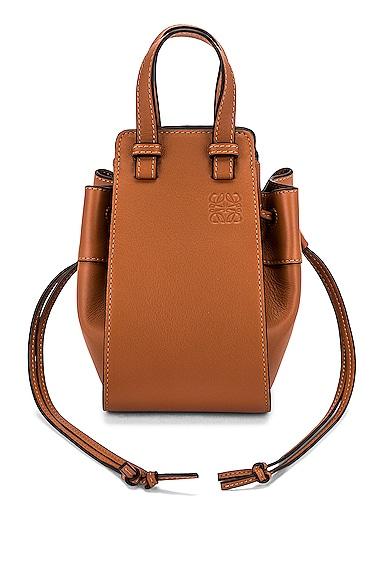 Loewe Hammock Mini Bag in Tan