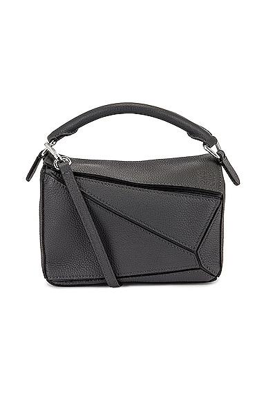 Loewe Puzzle Mini Bag in Grey