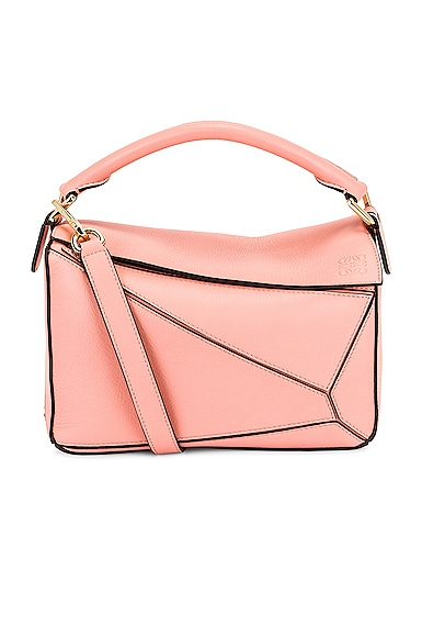 Loewe Puzzle Small Bag in Pink