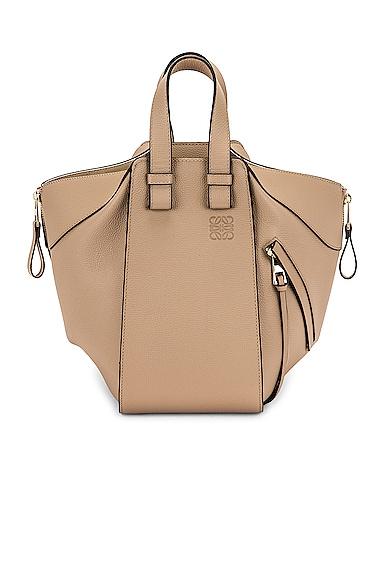 Loewe Hammock Small Bag in Beige