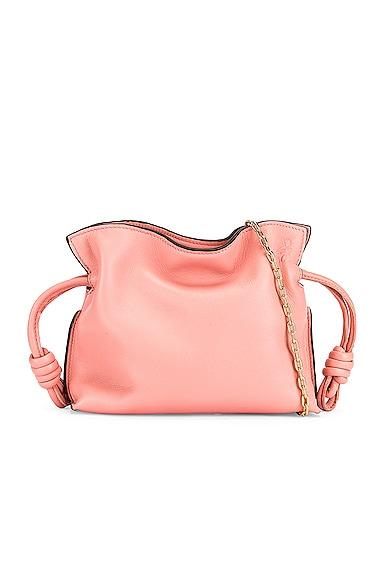 Loewe Flamenco Clutch Nano Bag in Pink