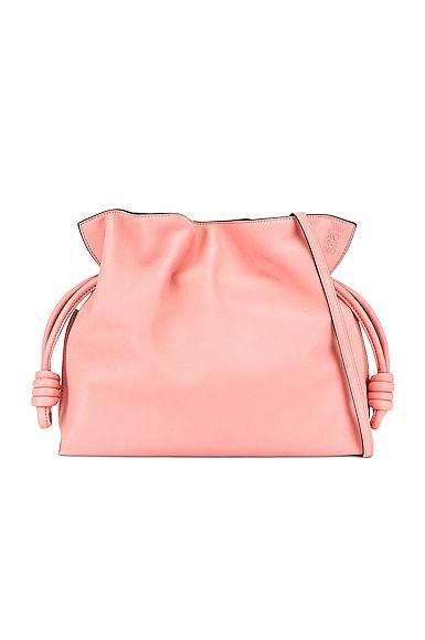 Loewe Flamenco Clutch Bag in Pink