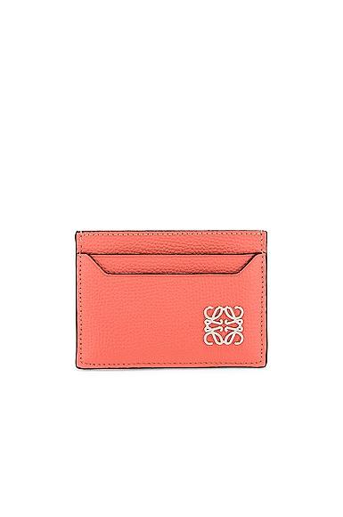 Loewe Anagram Cardholder in Pink