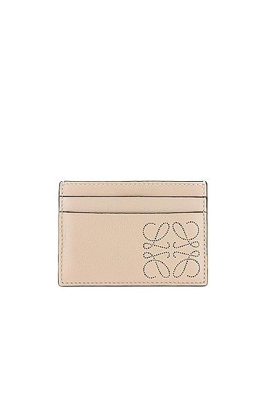 Loewe Brand Cardholder in Cream