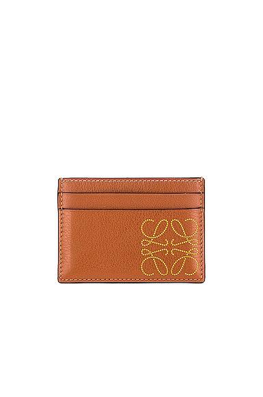 Loewe Brand Cardholder in Tan