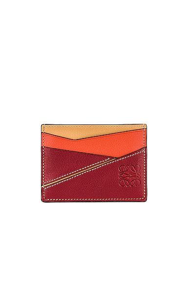 Loewe Puzzle Cardholder in Red