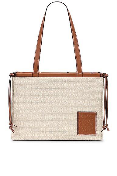 Loewe Cushion Anagram Small Tote Bag