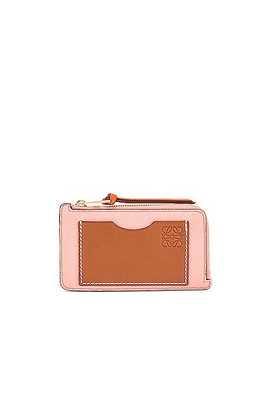 Loewe Coin Cardholder in Pink