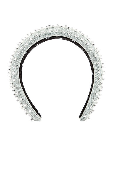 Petite Padded Beaded Headband