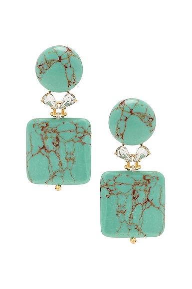 Stone Starlet Earrings