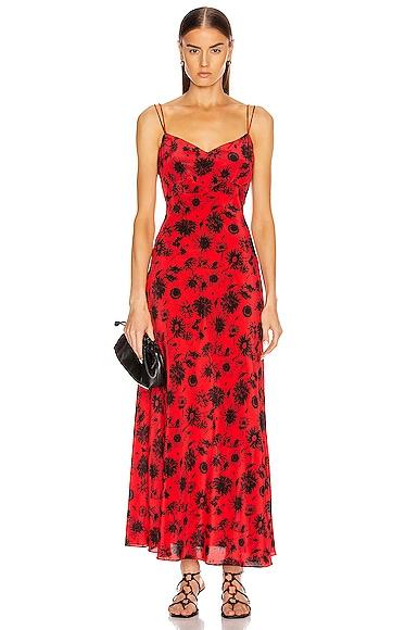 Maxi Silk Cami Dress
