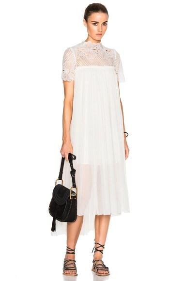 Camelia Silk Maxi Dress