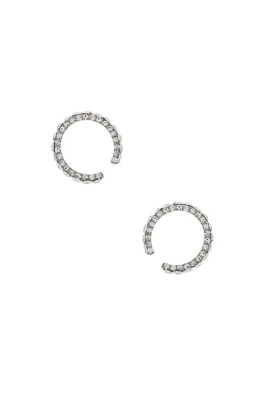Small Zirconia Earrings
