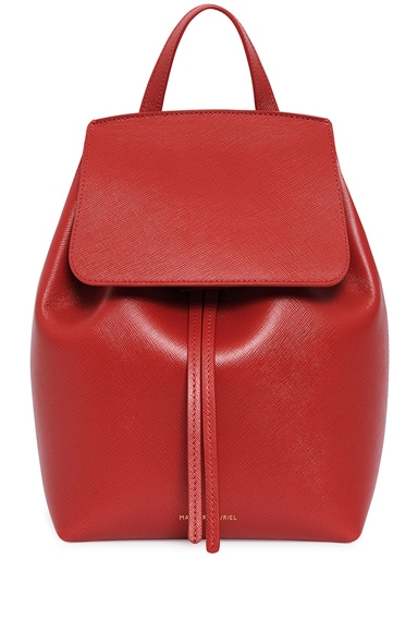 Saffiano Mini Backpack