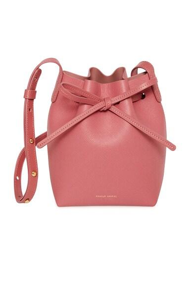 Saffiano Mini Mini Bucket Bag