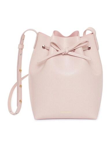 Saffiano Mini Bucket Bag