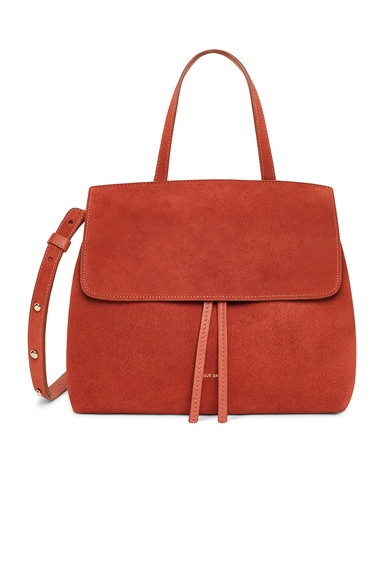Suede Mini Lady Bag