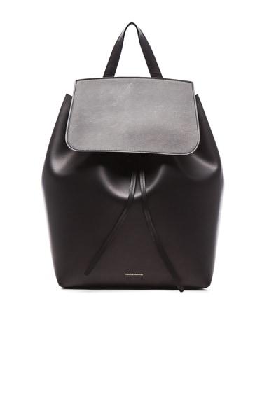 Coated Large Backpack