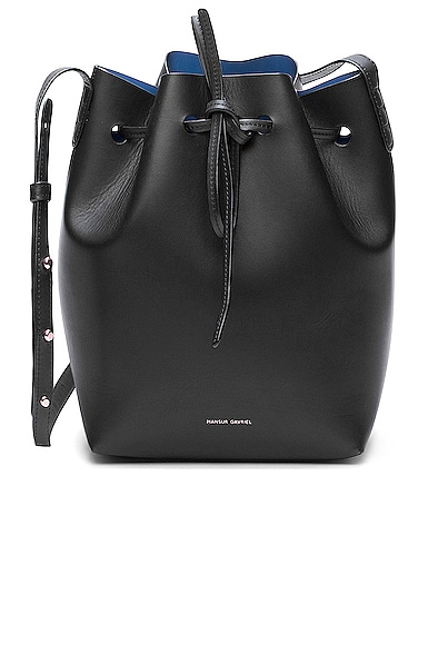 Coated Mini Bucket Bag