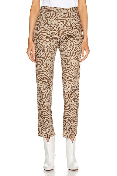 Zip Fly Junior Pant