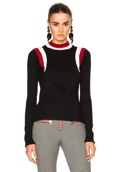 Virgin Wool Round Neck Sweater
