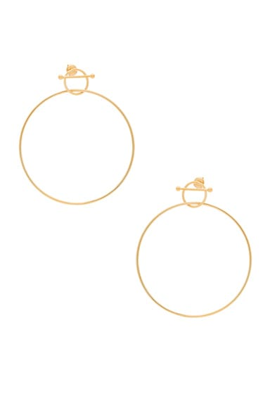 14 Karat Swing Earring