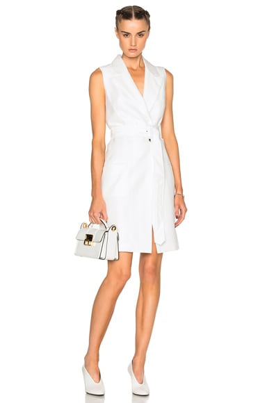 Tailored Wrap Dress