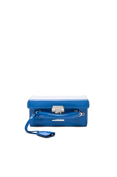 Grace Small Box Bag in Brush Off Cornflower Blue