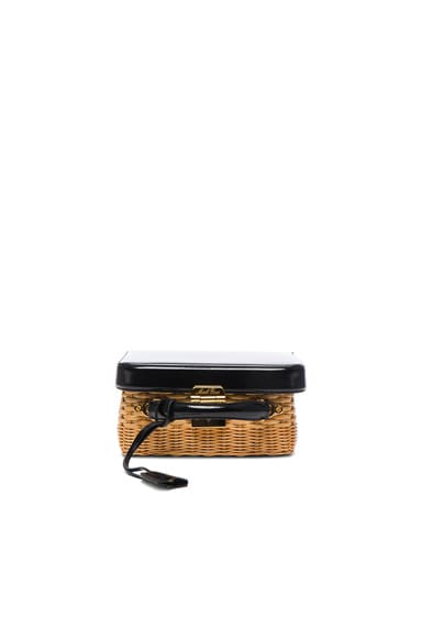 Grace Box Rattan Bag