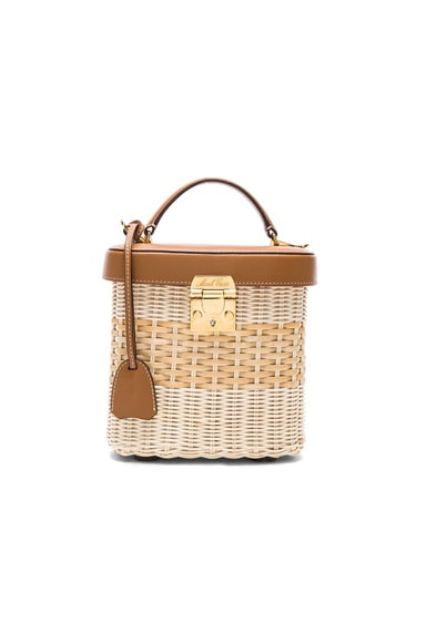 Benchley Rattan Bag