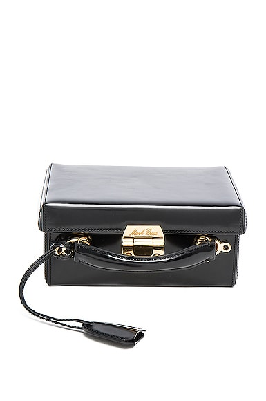 Grace Small Box Bag in Black