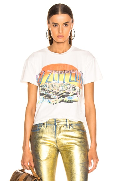 Led Zeppelin Holy Crop Tee