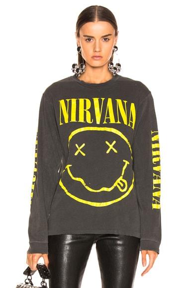 Nirvana Smiley Tee