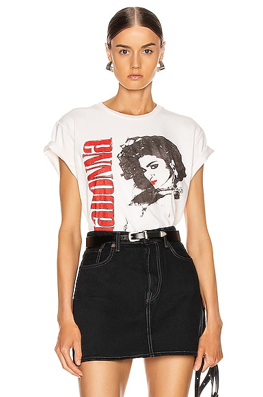 Madonna The Virgin Tour Crew Tee