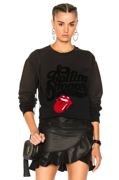 Rolling Stones Chenille Patch Sweatshirt