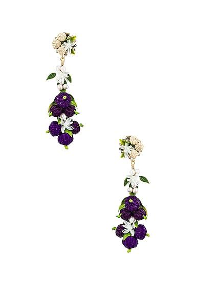 Blueberry Tropics Earrings