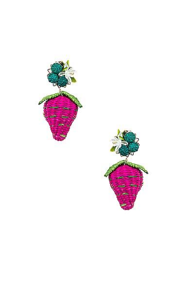 Strawberry Tropics Earrings