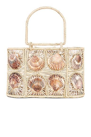 Woven Shell Bag