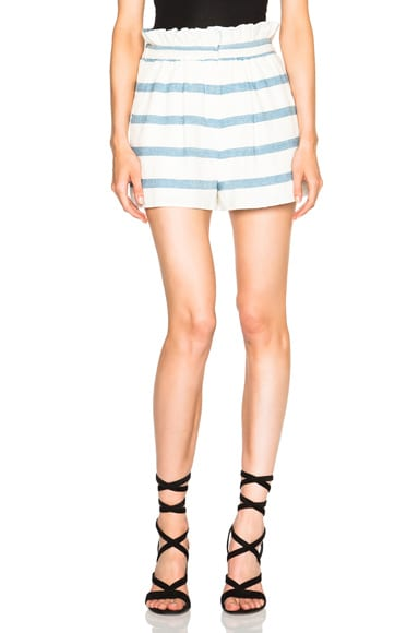 Novelty Stripe Shorts