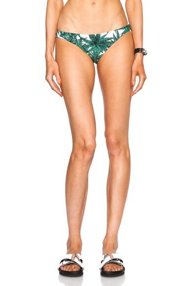 Reversible Ruched Brazilian Bikini Bottom