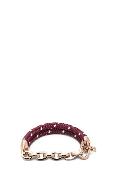 Karoo Chain on Rope Bracelet