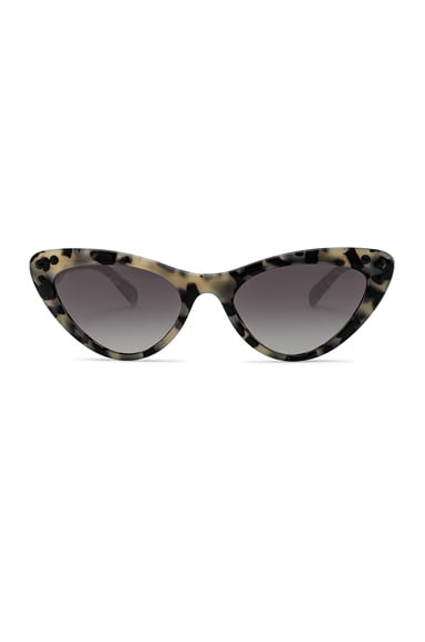 Logo Cat Eye Sunglasses