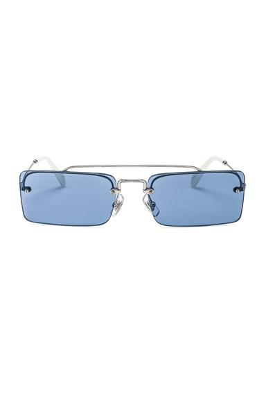Skinny Square Sunglasses
