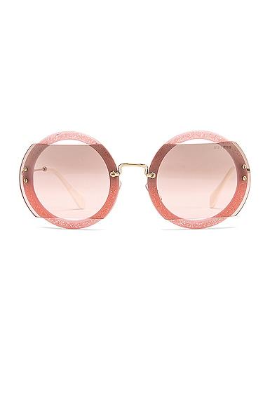 Glitter Square Sunglasses